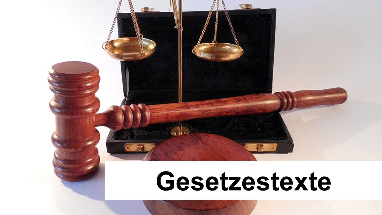 Gesetzestexte