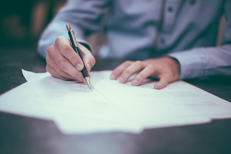 Vorsorgevollmacht unterschreiben