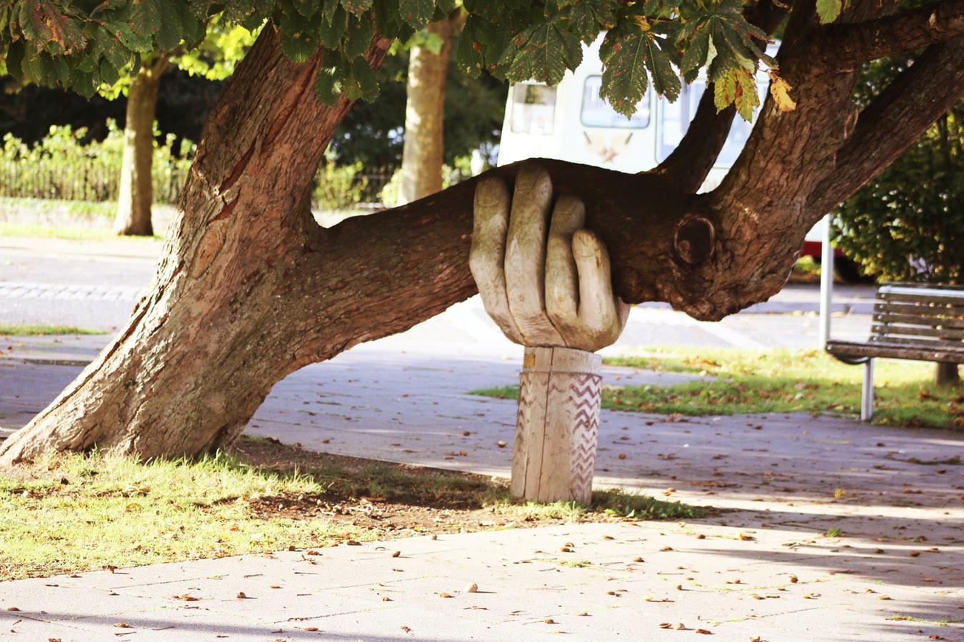 Pflegebedürftig, Hilfe, helfende Hand